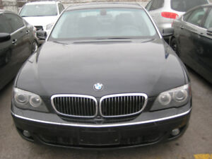 2007 BMW 7-Series 750Li SedanCAR PROOF VERIFIED SAFETY AND E TES