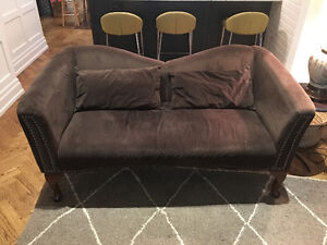 Loveseat couch settee sofa