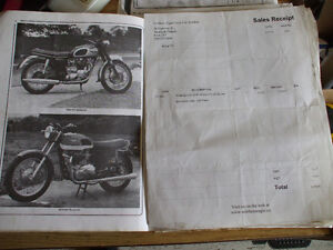 60's+ Triumph front wheel Stratford Kitchener Area image 3