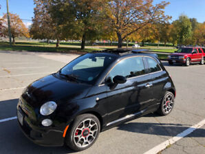 2013 Fiat 500 Sport with Lounge upgrades
