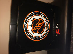 NHL themed dart board with accessories