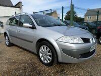 Renault Megane 1.6 VVT 111 DYNAMIQUE SPORT TOURER (aluminium/silver) 2007