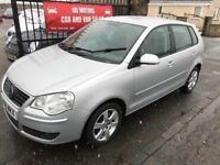 2008 VW POLO MATCH, 1 YEAR MOT, FULL SERVICE HISTORY , WARRANTY £1895