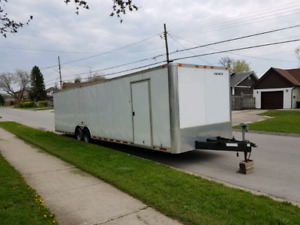 2011   32ft. Enclosed Trailer