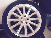 "Chrysler Srt rims 20"" steel alloy"