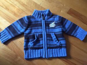 #4 Lot de vêtements de Marque bébé garçon 0-6 mois 35$
