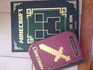 2 Minecraft books - BRAND NEW
