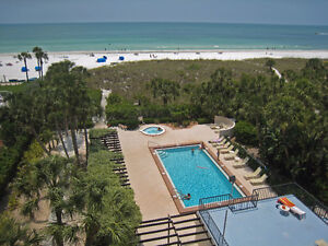 2BR2BA Gulf Coast Condo on Siesta Key Beach Sarasota Free WiFi E