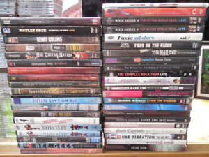MUSIC DVDS CONCERTS VIDEOS DOCUMENTARIES