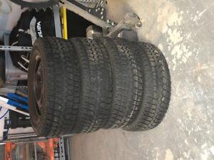 Winter tires 245/65R17