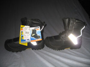 Baffin Ice Rebel Green Patch Boots