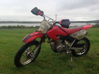 Honda 80 XR Dirt Bike 2002