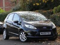 Ford Fiesta 1.25 2009 Black Zetec +2 LADY OWNERS + 8 FORD SERVICE STAMPS