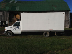 SWAP/TRADE - 2000 Ford E-350 Cube Van for Motorcycle or ATV