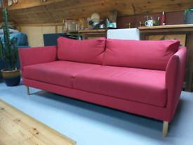 Three seater habitat sofa