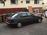 Mercedes Benz C200 Esprit 1998 W202 Black with MOT