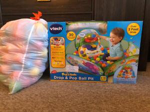 Free V-Tech Baby-Toddler 'Drop n Pop Ball Pit'