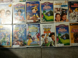 DISNEY VHS TAPES 60