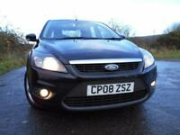 2008 08 FORD FOCUS 1.6 ZETEC 5D 100 BHP **LOVELY CONDITION**ECONOMICAL FAMILY CA