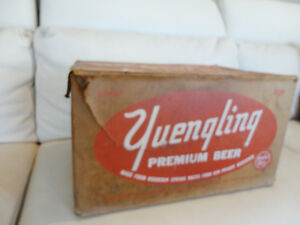 Vintage Rare 1959 Yuengling Premium Beer Pale Dry Wax Beer Case Kitchener / Waterloo Kitchener Area image 9