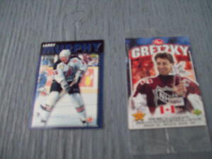 2-CARTES DE HOCKEY POST 1995-1999,DE COLLECTION.