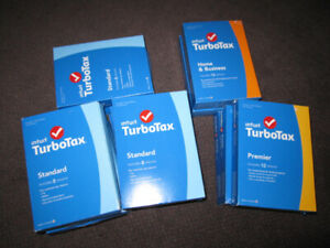 2014 Turbo Tax - Standard, Premium, Home & Business -- $15 & up