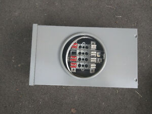 SOCKET METER 100A 600V 7 JAW 3PH 4W OVERHEAD