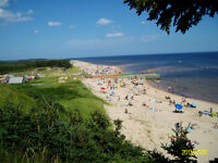 Visit Canada's #1 Beach: Singing Sands Beach at Basin Head PEI
