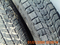 four 13 inch tires for 2000 toyota echo