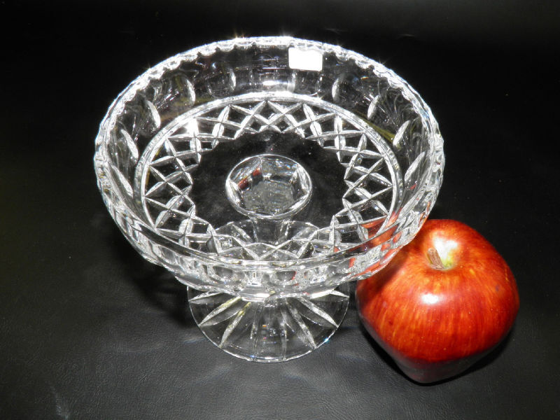 Handcut Crystal Compote