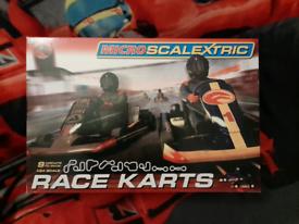 Micro Scalextric Race Karts