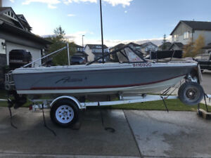 1985 AQUASTAR SKI – FISHING BOAT, 16.5 FT, OPEN BOW. GREAT DEAL!
