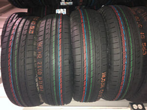 NEW SUMMER TIRES ALL SIZES PNEUS NEUFS ÉTÉ TOUT EN STOCK 2019