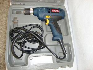 RYOBI 3/8 Electric Drill Kawartha Lakes Peterborough Area image 1
