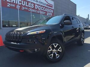 Jeep Cherokee 4X4+V6+Trailhawk+CUIR+MAGS+WOW+ 2016