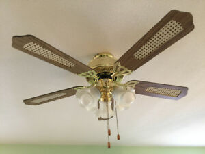Ceiling fan light for sale - I have 3 of them