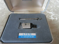 stanton l737e turntable cartridge in mint condition