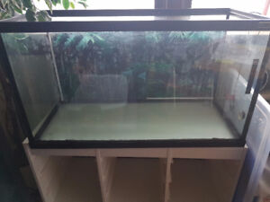 50 Gal. tank and stand