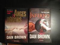 DAN BROWN - Inferno et Anges et Démons