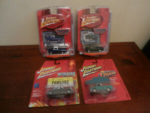 Johnny Lightning Various Pickup Trucks Lot of 4