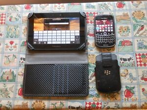 Blackberry Playbook and a Blackberry Bold phone (price reduced)