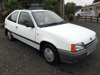 Mk2 Vauxhall Astra 1.3L With only 24,000 miles not nova Corsa cavalier Calibra