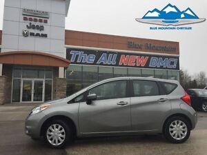 2015 Nissan Versa Note SV  ACCIDENT FREE, CD/MP3/SAT/BLUETOOTH,