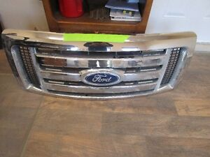 CHROME GRILLE ASSY FOR 2011 FORD F-150