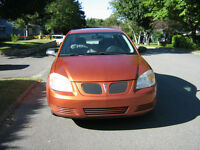 2006 Pontiac Pursuit orange Berline