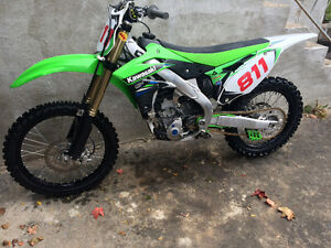 2014 KX250f one owner