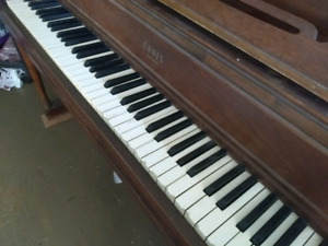 Ennis upright piano, free