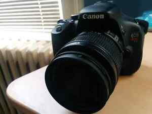 Canon T3i with lots of extras
