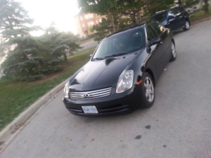 2004 Infiniti G35 ~~ low KM ~~ comes fully certified