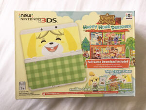 New Nintendo 3DS Animal Crossing edition